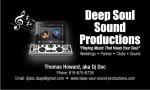 Deep Soul Sound Productions