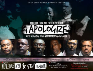 """The """"I Apologize"""" Series: Real Conversations @ Open Door Family Worship Center 