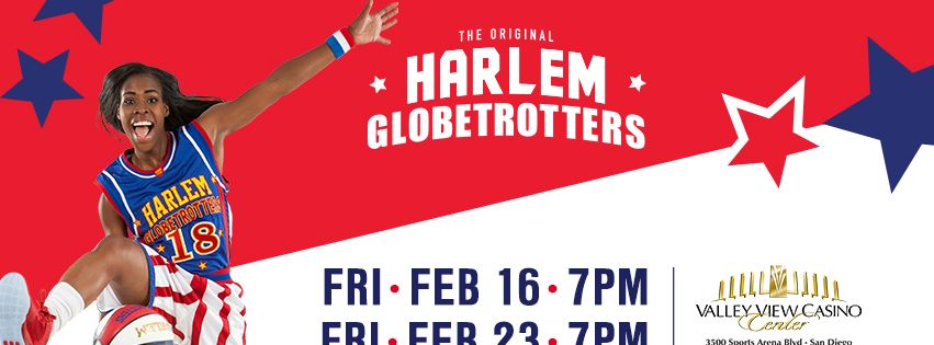 The Harlem Globetrotters @ Valley View Casino Center  | San Diego | California | United States
