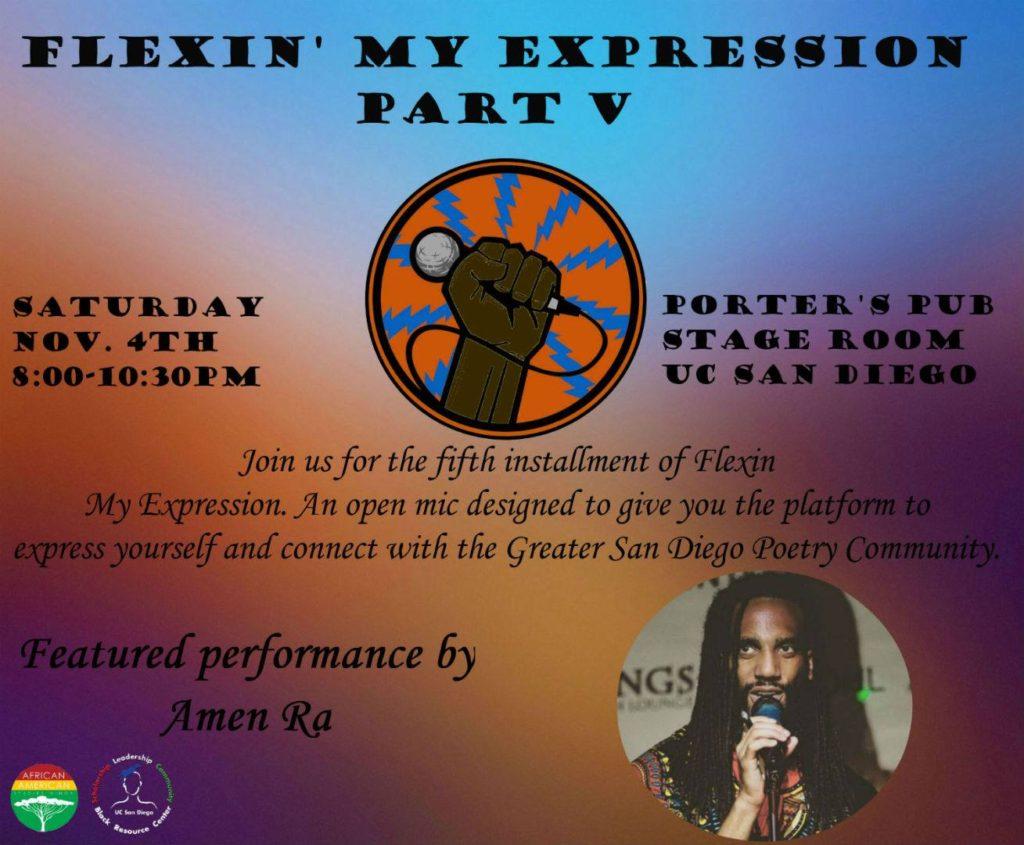 Flexin' My Expression V @ Porter's Pub UCSD  | San Diego | California | United States