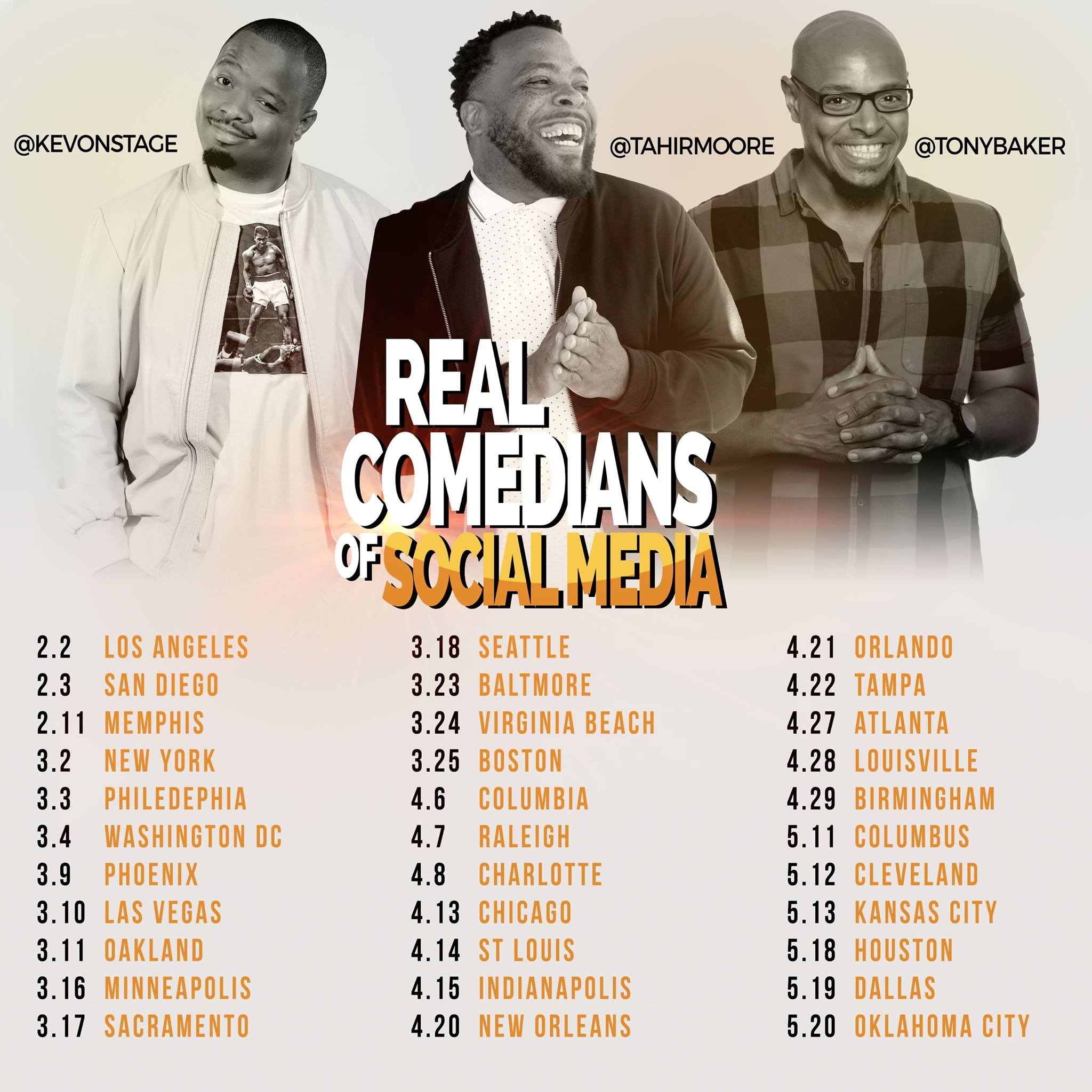 Real Comedians of social Media San Diego Tour @ The Salvation Army Kroc Center - San Diego 6845 University Ave, San Diego, California 92115 | San Diego | California | United States