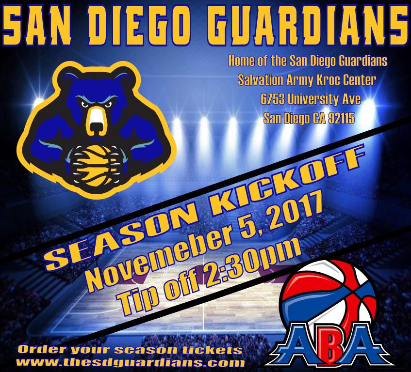 San Diego Surf Vs. San Diego Guardians @ The Salvation Army Kroc Center  | San Diego | California | United States