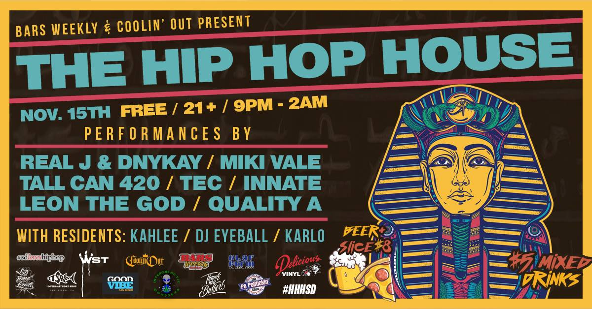 Hip-Hop House SD @ AIR CONDITIONED LOUNGE | San Diego | California | United States
