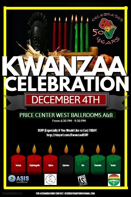 BSU's Kwanzaa Celebration/50th Anniversary @ Price Center West Ballroom  | San Diego | California | United States