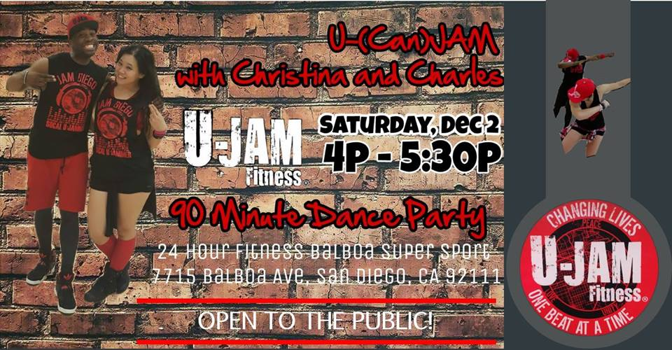 U-(Can)Jam with Charles @  24 Hour Fitness | San Diego | California | United States