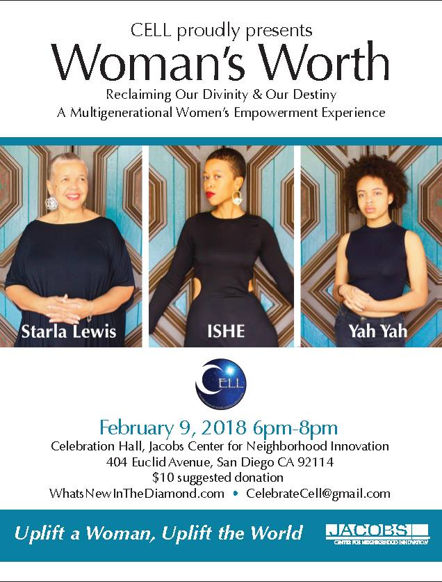 Woman's Worth:A Multigenerational Women's Empowerment Experience @ Jacobs Center for Neighborhood Innovation  | San Diego | California | United States