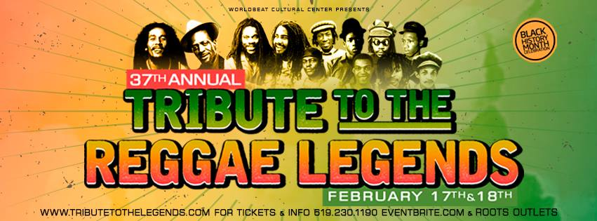 Tribute to the Reggae Legends - Bob Day 2018 @ WorldBeat Cultural Center | San Diego | California | United States