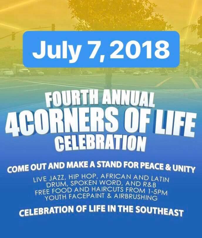 4 Corners of Life Celebration 2018 @ San Diego | California | United States