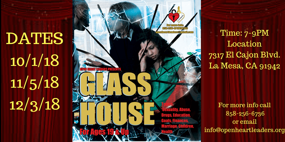 Glass House Interactive Discussion @ Open Heart Leaders Office