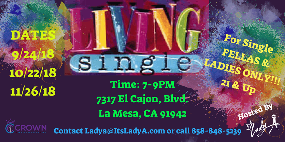 We Are LIVNG SINGLE @ Lady A's Office