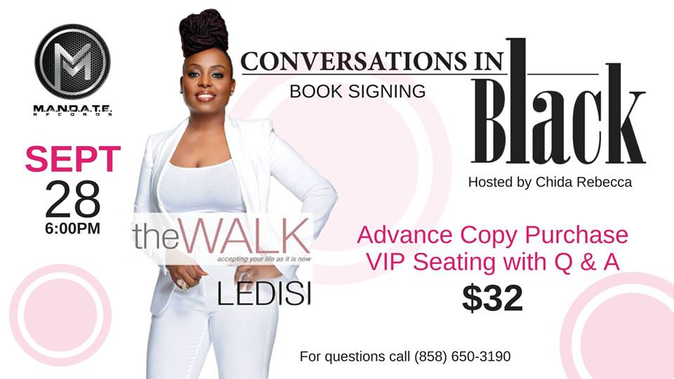 Conversations in Black: Ledisi Book Release Celebration @ Jacobs Center for Neighborhood Innovation