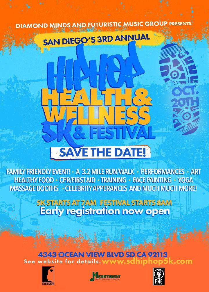 Hip Hop Health & Wellness 5K & Festival