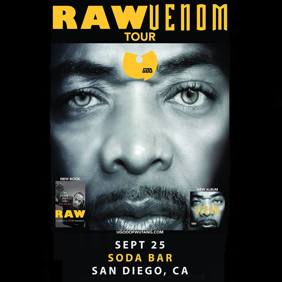 U-God of Wu Tang Clan w/ Parker + Evolve at Soda Bar @ Soda Bar