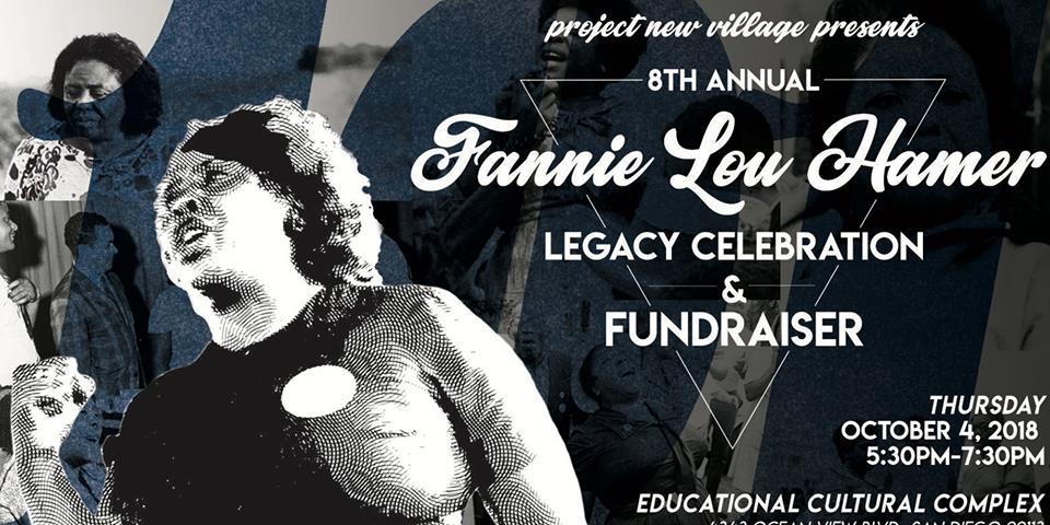8th annual Fannie Lou Hamer Legacy Celebration @ Educational Cultural Complex
