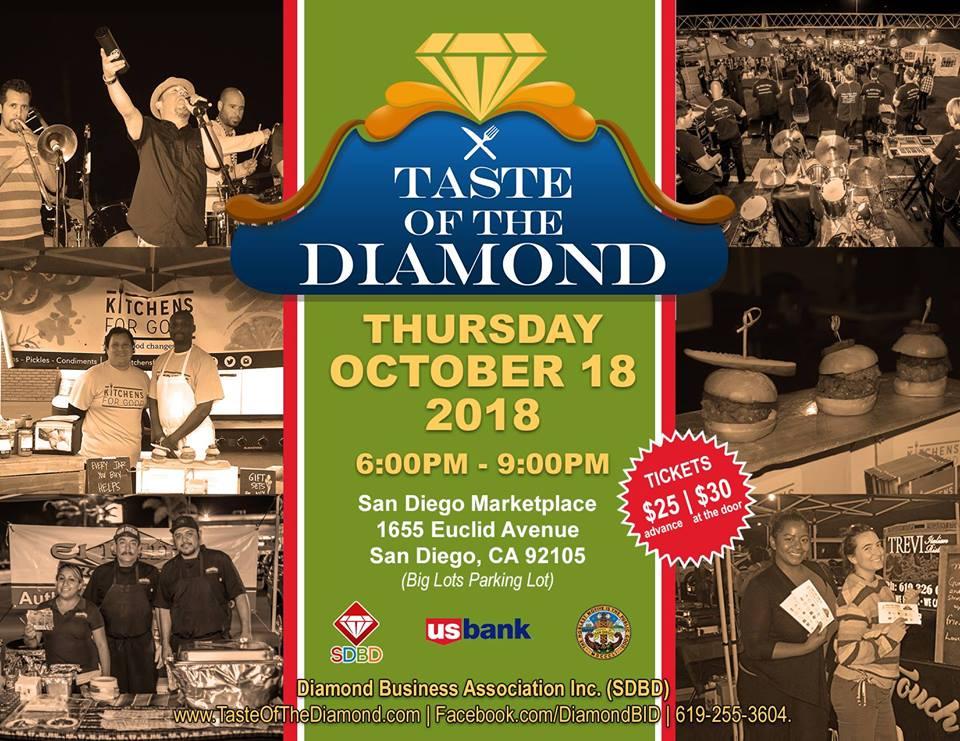 Taste of the Diamond @ Big Lots