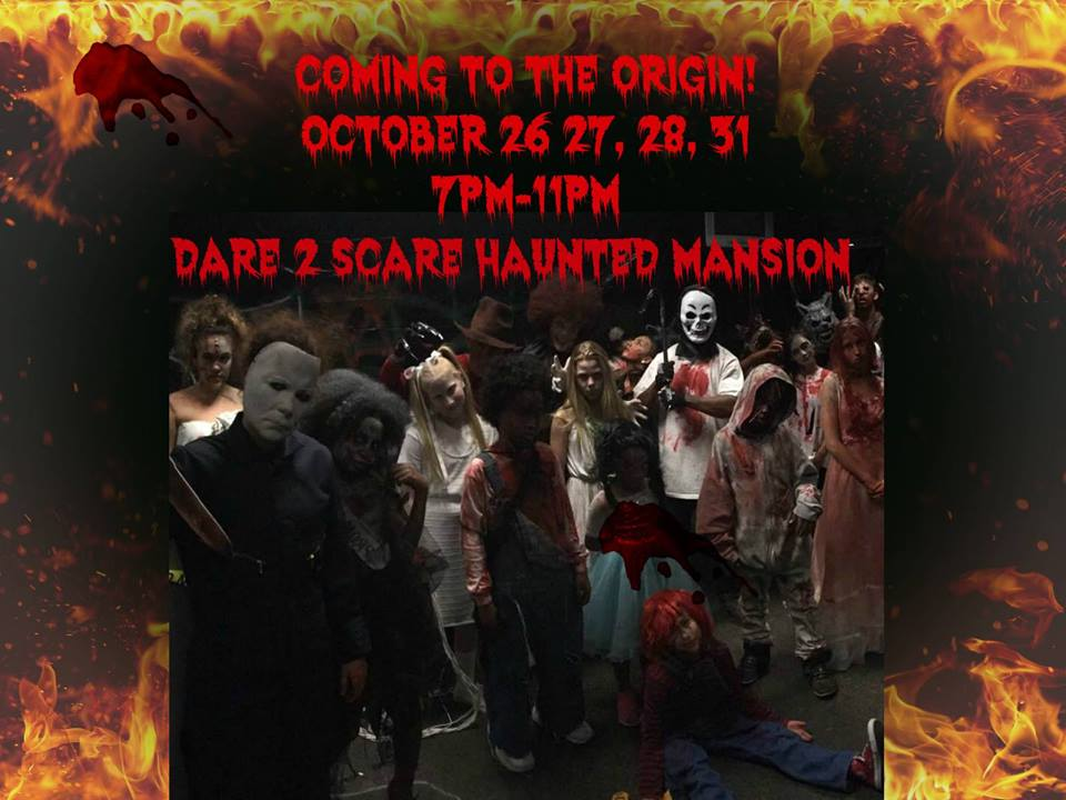 2nd Annual Dare 2 Scare! Hip Hop Haunted House @ The Origin Hip Hop Performing Arts Academy
