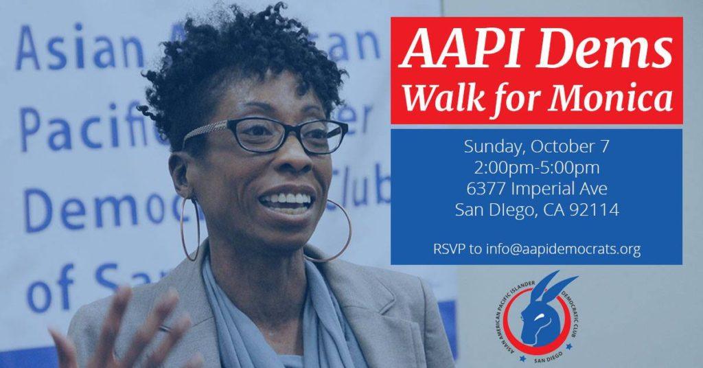 AAPI Dems Walk for Monica Montgomery