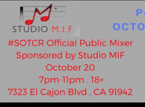 Secrets of the Class Reunion: The Play, Official Mixer @ Studio MIF Inc