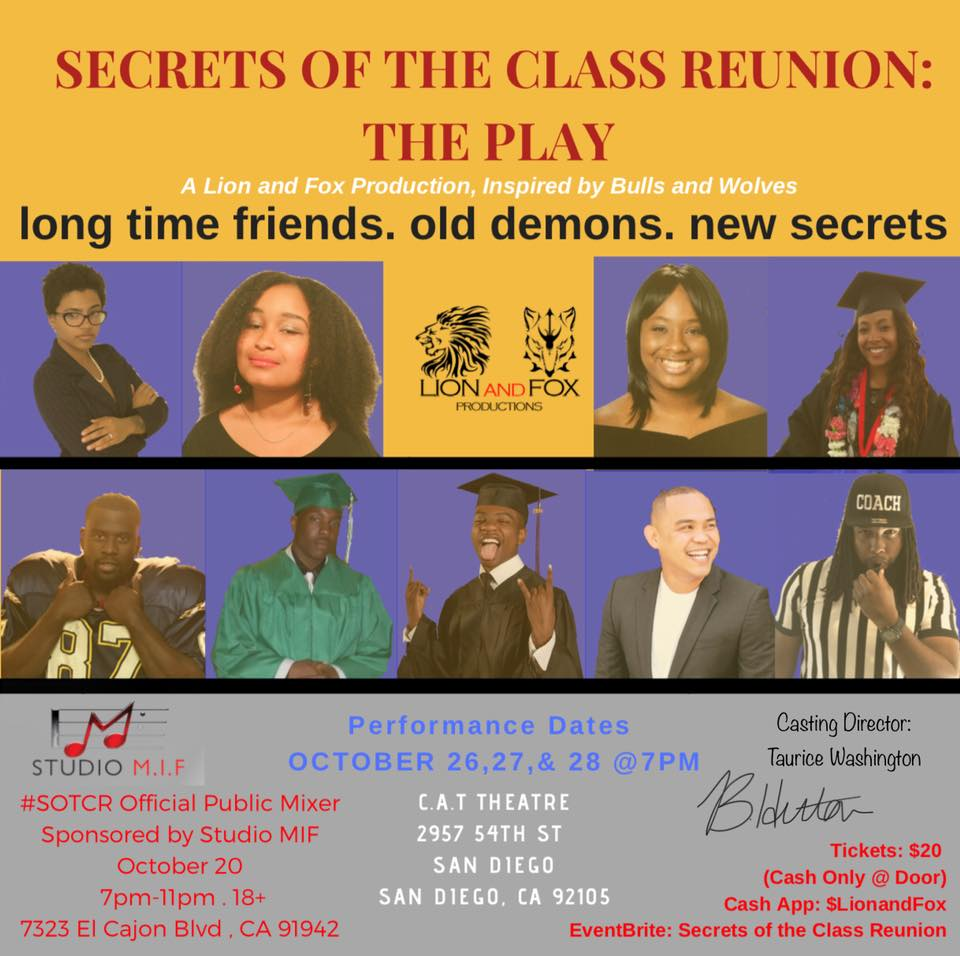 Secrets of the Class Reunion:The Play @ Community Actor's Theatre (San Diego)
