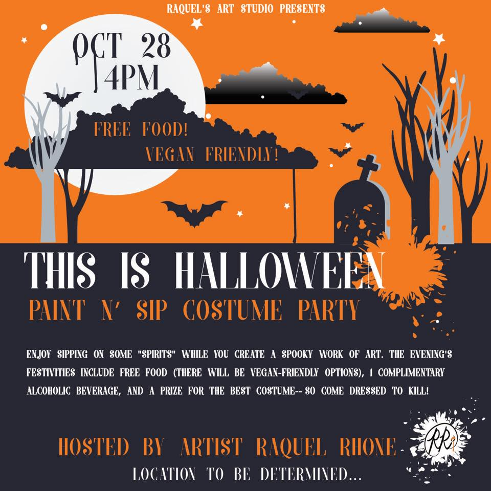 Halloween Paint/Costume Party