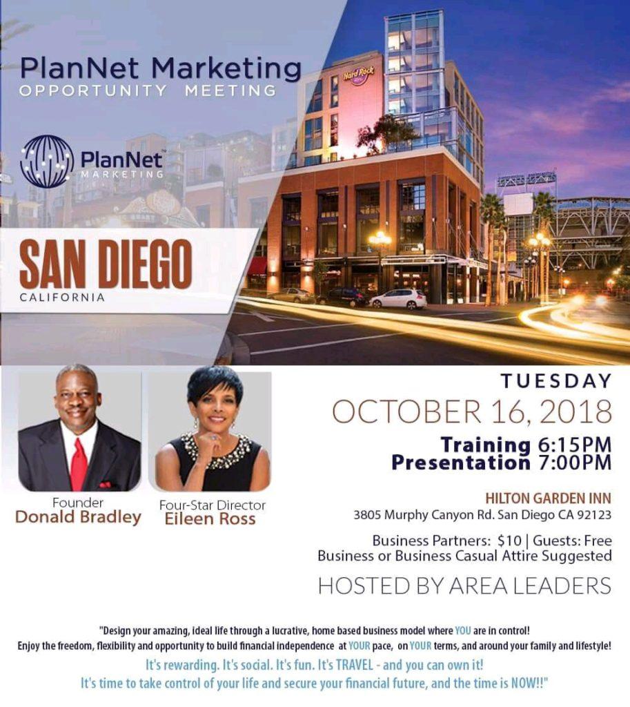 PlanNet Marketing Opportunity Meeting @ Hilton Garden Inn
