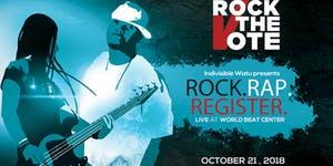 ROCK the VOTE - SD Rock,Rap,Register @ WorldBeat Cultural Center