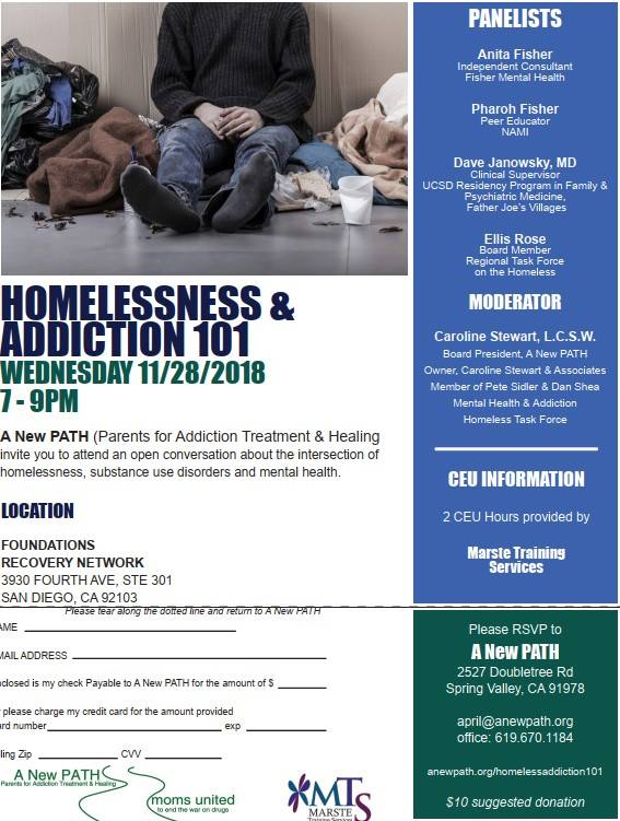Homelessness & Addiction 101 @ FOUNDATIONS RECOVERY NETWORK