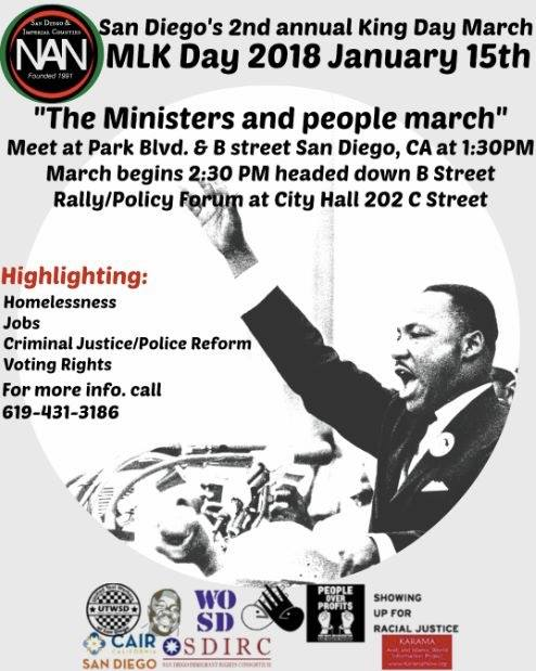 2nd Annual Dr. Martin Luther King, Jr. Day March