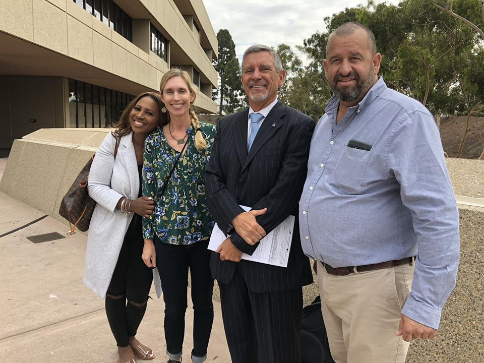 Court Support for Trial of Meeka @ San Diego Superior Court