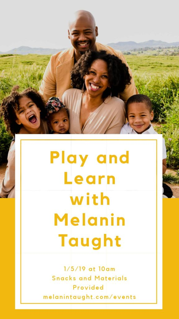 Play and Learn With Melanin Taught @ College - Rolando Library