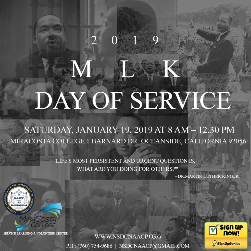 MLK Day of Service @ MiraCosta College