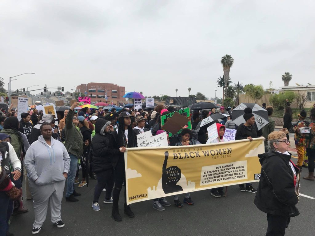 March for Black Women San Diego @ We will meet at the intersection of Logan & Euclid (92114)