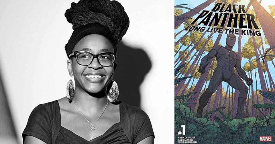 Marvel Comics writer & novelist Nnedi Okorafor comes to PLNU @ Writer's Symposium By The Sea
