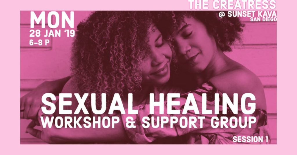 Sexual Healing Workshop & Support Group (Pt.1) @ Sunset Kava Lounge