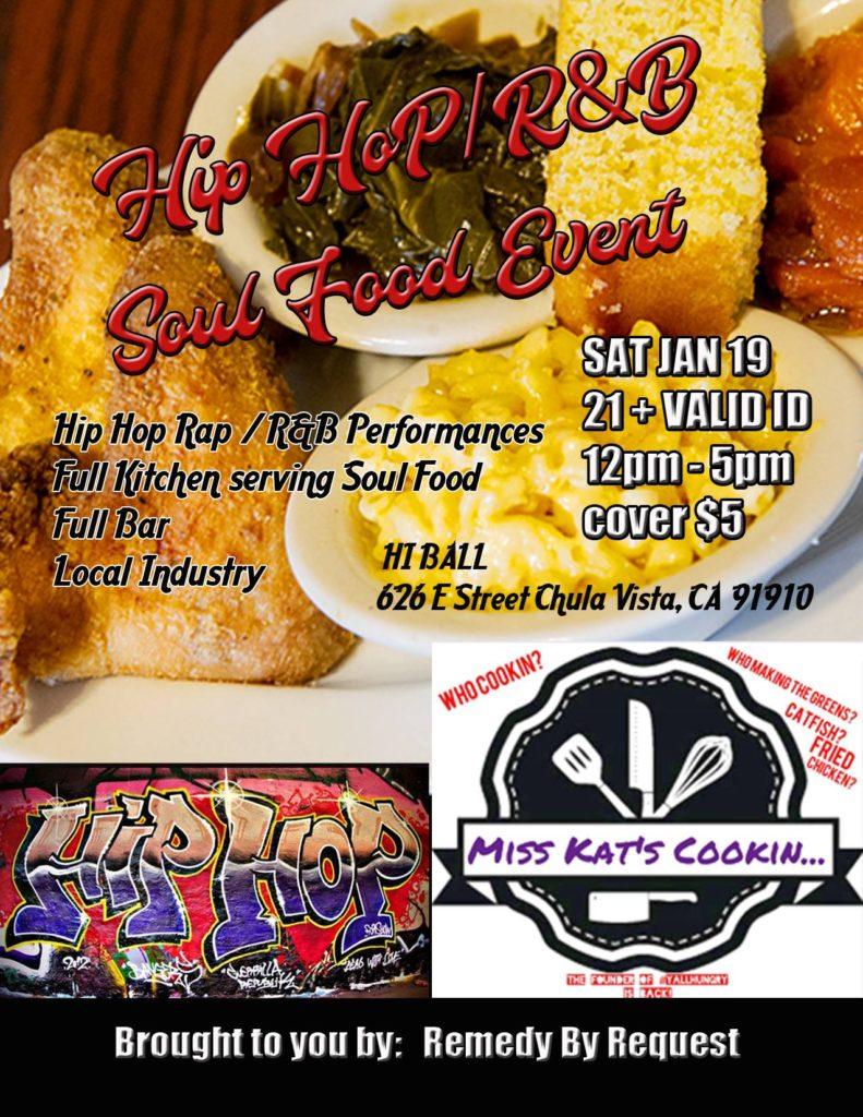 Hip Hop Rap / R&B /Soulfood Event @ Hi Ball