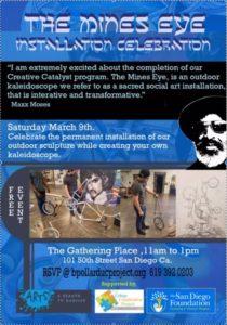 Creative Catalyst/ The Mines' Eye @  101 50th Street; San Diego,92102