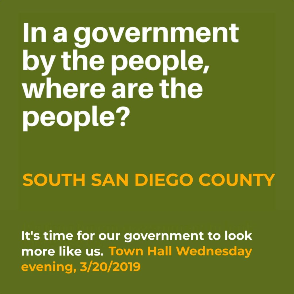 South San Diego County Town Hall @ Martin Luther King Jr. Community Center