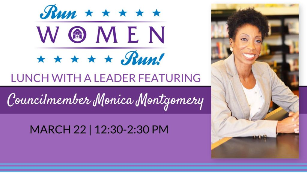 Lunch With A Leader: Councilmember Monica Montgomery @ Planned Parenthood Administration