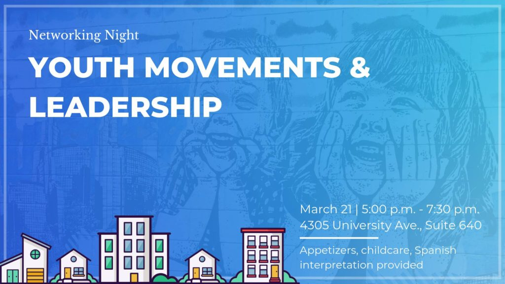 Youth Movements & Leadership @ Mid-City CAN (Community Advocacy Network)