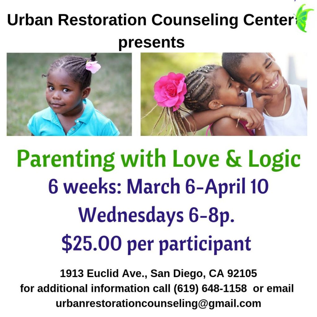 Parenting With Love & LOGIC workshop @ 1913 Euclid Ave, San Diego, CA 92105-5330