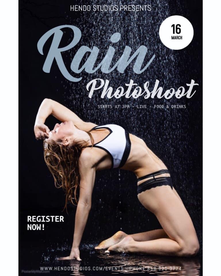 RAIN Photoshoot @ Hendo Studios