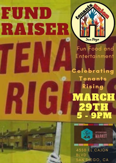 Tenants UNION Rising Fundraiser @ Fair at 44
