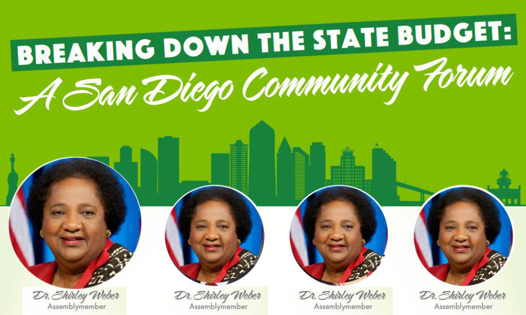 Breaking Down the State Budget: A San Diego Community Forum @ Educational Cultural Complex (ECC)
