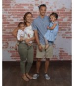 My family is the fuel to my fire that keeps me going! My wife, Alyssa, my son, Jonah Love, and my daughter Kyah Rae.