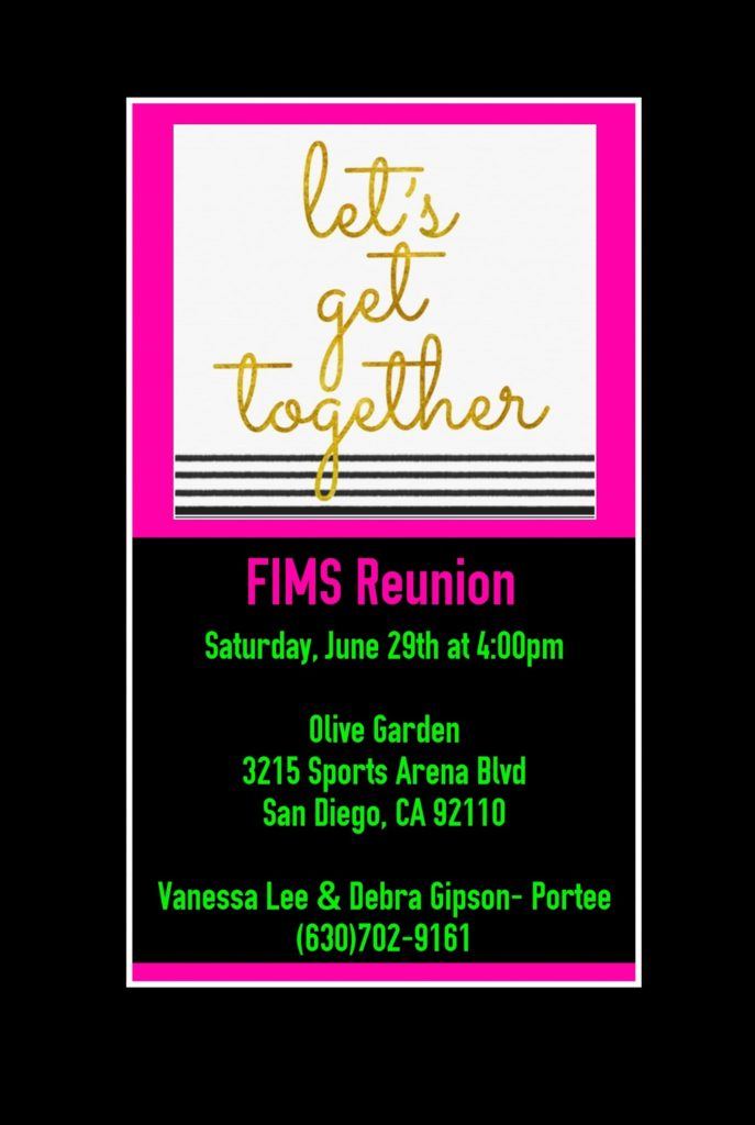 FIMS Reunion @ Olive Garden