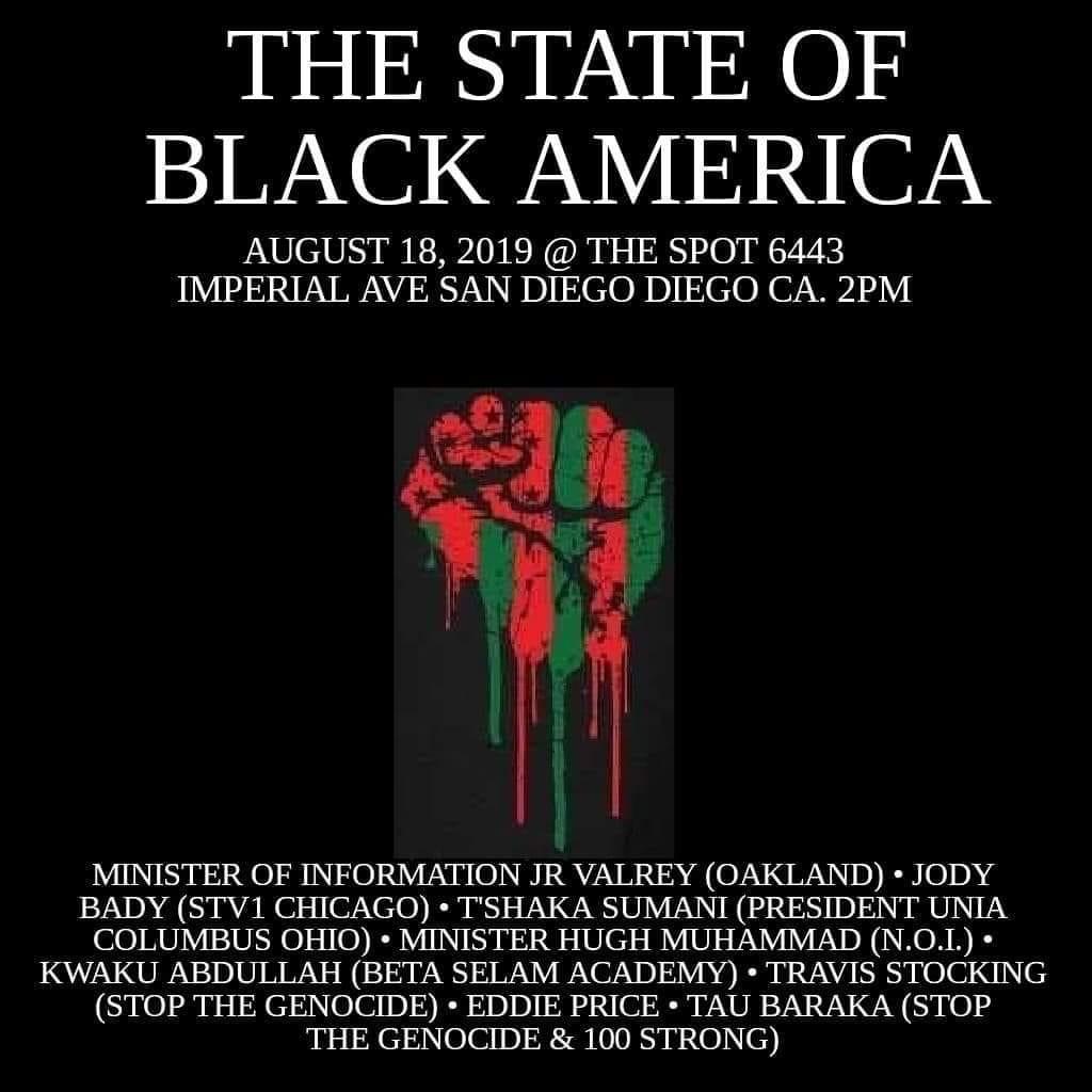THE STATE OF BLACK AMERICA @ Southeast CommUnity Spot