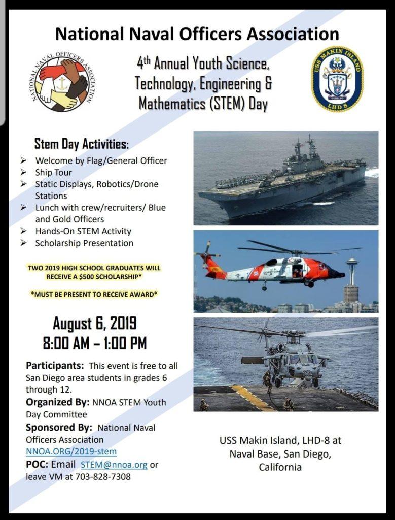 STEM Tour on the USS Makin Island @ 32nd St. Naval Base