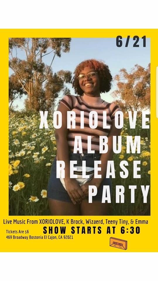Xoriolove Album Release Party @ The Origin Hip Hop Performing Arts Academy