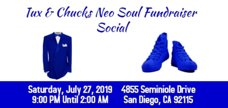 Tux and Chucks Neo Soul Fundraiser Social @ United Domestic Workers