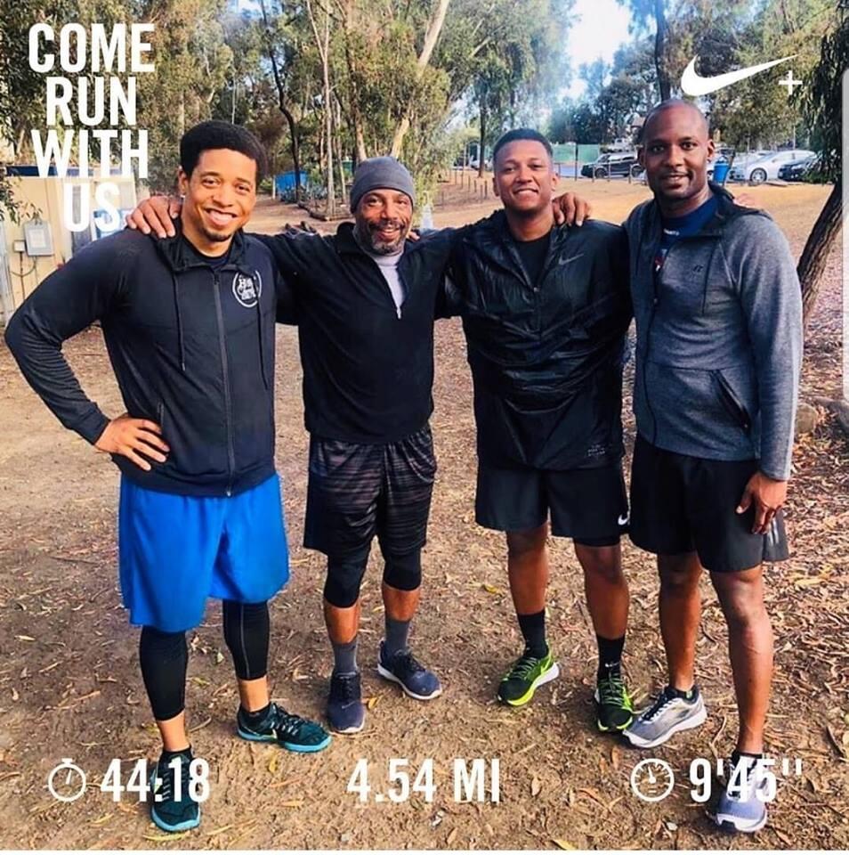 Let's Run- Black Men Run @ Chollas Park